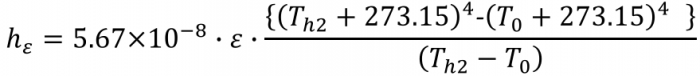 放射熱伝達率