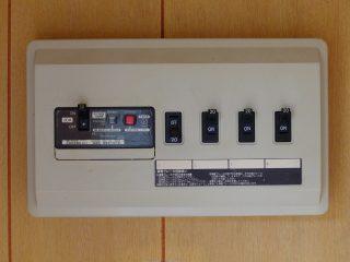家庭用の遮断器の例