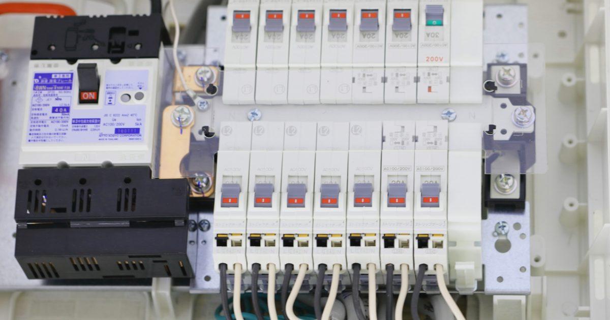 電源と遮断器選定