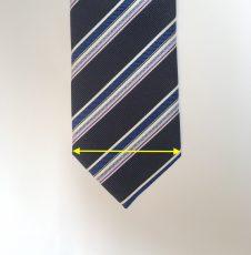 ネクタイ幅をジャケットの襟